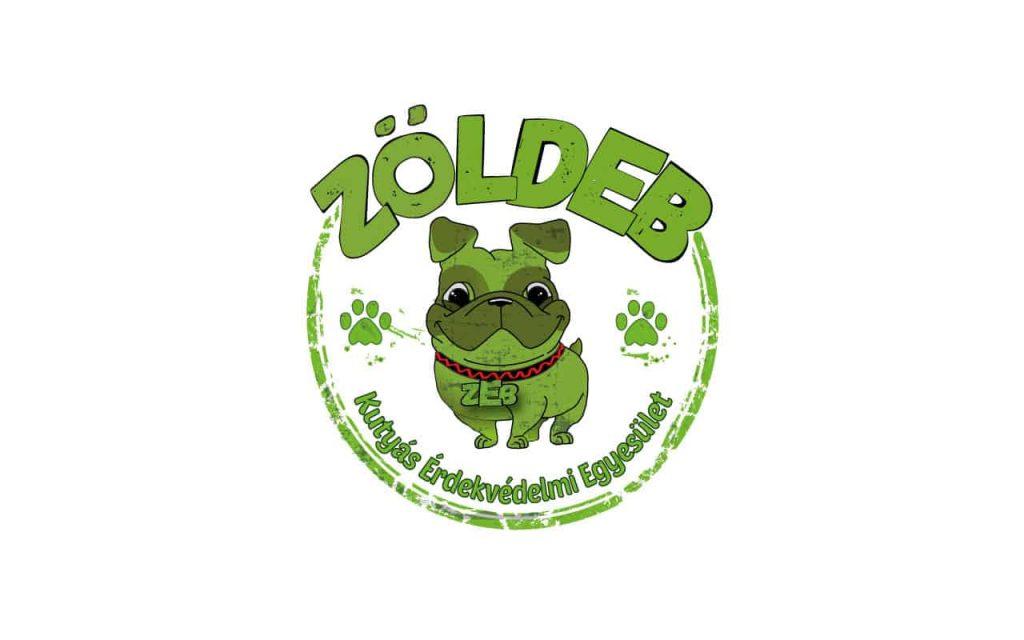 ZöldEB Kutyás Érdekvédelmi Egyesület pecsét logója