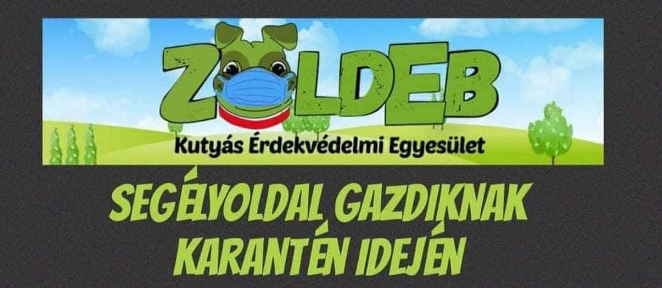 ZöldEb Segélyvonal COVID19